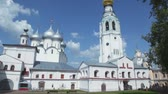 Complex of Saint Sofia and Holy resurrection cathedral in Vologda, Russia