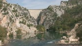 manavgat : green canyon in Turkey Stock Footage