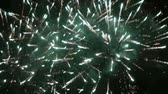 roket : New Year fireworks on night sky