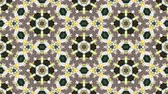 floral ornament : Kaleidoscopic vj seamless loop Stock Footage