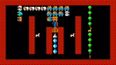 rejtvény : Train puzzle, retro style low resolution pixelated game graphics animation, level 10