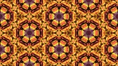 csempézett : Kaleidoscopic vj seamless loop Stock mozgókép