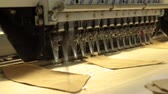 produktivita :  industrial embroidery and sewing machine that working on the component part of footwear product