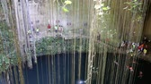 chichen : MEXICO, CANCUN - 17 MARCH 2015: Ik-Kil Cenote, Chichen Itza, Mexico