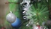 Christmas tree and balls