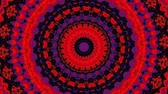 Moving abstract random psychedelic footage. Wideo