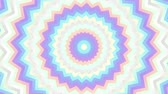 Spinning abstract magic circle. Esoteric cosmic mandala with rayses. Looping footage. Symbol of the sun. Wideo