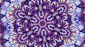 encaracolado : Transforming ornamental circle. Round mandala pattern. Seamless loop footage.