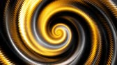 transform : Endless spinning Revolving Spiral with rays Seamless looping footage. Abstract helix. Stock Footage