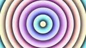 alívio : Multi color changing circle. Abstract animated background. Looping footage.
