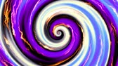 tekercs : Endless spinning futuristic Spiral. Seamless looping footage. Abstract helix.