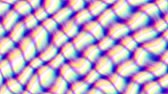 фрактальный : Transforming abstract background. Plaid wavy animated background. Looping footage.