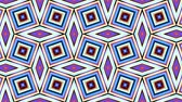 плед : Transforming geometric shapes. Plaid tile background. Looping footage.