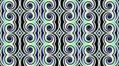 плед : Transforming spirals tile. Futuristic abstract background. Looping footage.