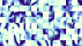 плед : Flickering squares. Abstract geometric background. Seamless looping footage.