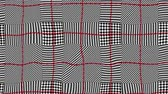 плед : Wavy moving stirring background. Plaid background. Seamless looping footage.