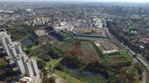 artes : Aerial view Ribeirao Preto city park, Arts park. August, 2016.