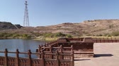 patio : Panoramic view of landscape from a building pation in Jodhpur.