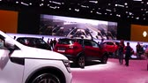 crossover : Renault Arkana presentation at MIMS 2018. SEP 03, 2018 MOSCOW, RUSSIA
