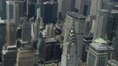 chrysler building : metlife and chrysler buildings Stock Footage
