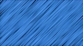 abstrakcja : Abstract motion background with blue stripes. Moving Lines endless loop.