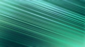 Diagonal abstract lines stripes motion green-blue decorative background. 4K UHD video loop.