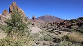 roques : Teide National Park Roques de Garcia in Tenerife at Canary Islands