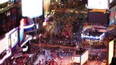vezes : Times Square. Time lapse and loopable