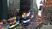 chodec : Timelapse of Times Square traffic at evening Dostupné videozáznamy
