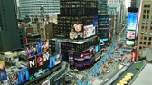 vezes : Timelapse of Times Square traffic at daytime