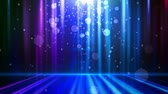 магия : abstract glowing background with particles. Blue. Loopable Стоковые видеозаписи