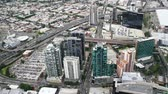 passagem elevada : birds-eye view of Melbourne. Australia