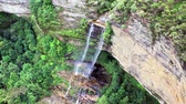 farol : aerial view of a waterfall