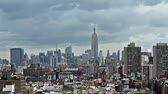 não urbano : panorama of Manhattan skyline time lapse