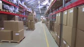палетка : commercial warehouse with boxes