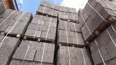 незаконченный : commercial warehouse building block, wood chips, bricks