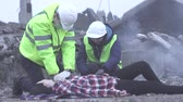 cankurtaran : resuscitation of human workers of the rescue service after a disaster or earthquake