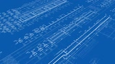 corner : 25fps-1080p-Construction Drawings-Perspective1-Blue