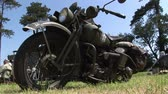 exército : world war two military motorcycle