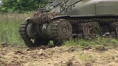 heavy : American world war two tank in action