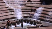 que vale a pena : Water Gardens Waterfall park in the city of Fort Worth. April 6, 2016 in Fort Worth, Texas, United States