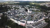 Aerial view over the old town of Weilburg. Limburg-Weilburg district in Hesse, Germany,