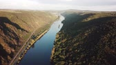 The Moselle river and valley in Rhineland, Germany