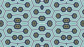 fraktální : Kaleidoscope seamless loop sequence mandala patterns abstract multicolored motion graphics background. Ideal for yoga, clubs, shows Dostupné videozáznamy