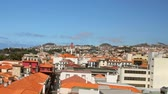 madeira : City on hillside. Funchal, Madeira, Portugal