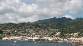 City on the coast of the Caribbean Sea. Kingstown, Saint Vincent and Grenadines