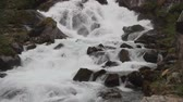 norueguês : Raging mountain river. Geiranger, Stranda, Norway Stock Footage