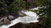noruega : Rough mountain river. Geiranger, Stranda, Norway