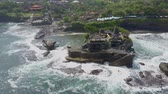 tanah lot : Aerial view on the coast Tanah Bali