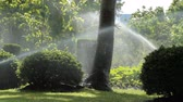 jardim formal : Sprinkler in the garden